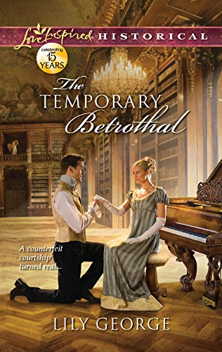 9780373829330: The Temporary Betrothal (Love Inspired Historical)