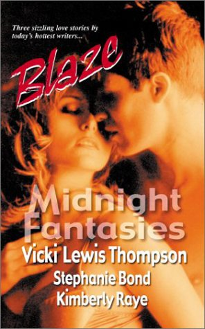 BLAZE-Midnight Fantasies: Mystery Lover/After Hours/Show and Tell: Vicki Lewis Thompson,