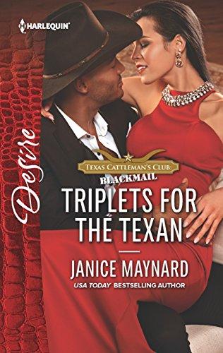 Triplets for the Texan (Texas Cattleman's Club: Janice Maynard