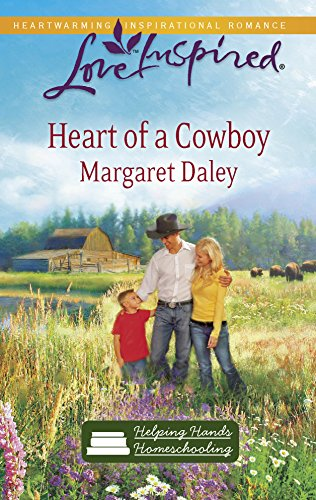 9780373876099: Heart of a Cowboy (Helping Hands Homeschooling Series #2) (Love Inspired #573)