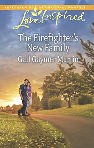 9780373878628: The Firefighter's New Family (Love Inspired)