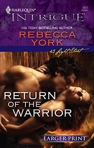 Return Of The Warrior (0373887914) by York, Rebecca