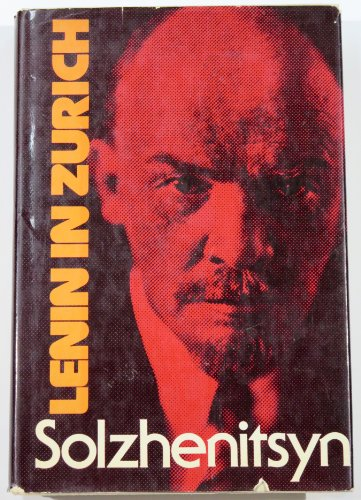 9780374018504: Lenin in Zurich : Chapters ; Translated by H. T. Willetts