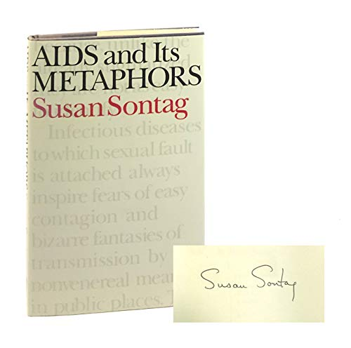 AIDs and Its Metaphors: Sontag, Susan