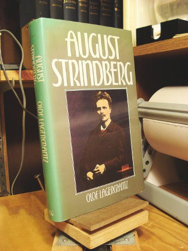 9780374106850: August Strindberg (English and Swedish Edition)