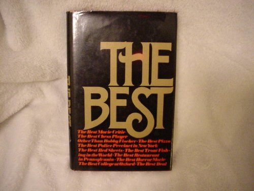 9780374112271: The best