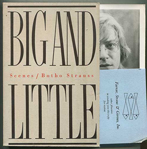 9780374112547: Big and Little: Scenes