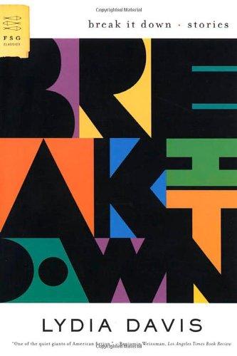 9780374116538: Break It Down