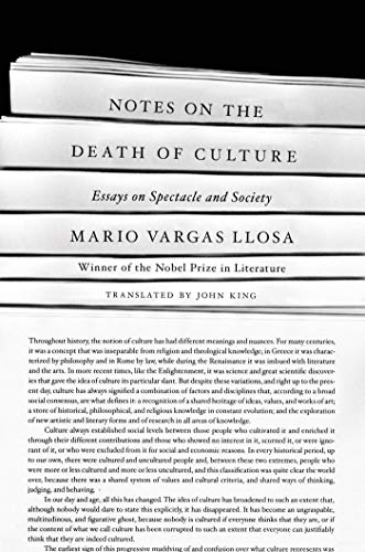 9780374123048: Notes on the Death of Culture: Essays on Spectacle and Society