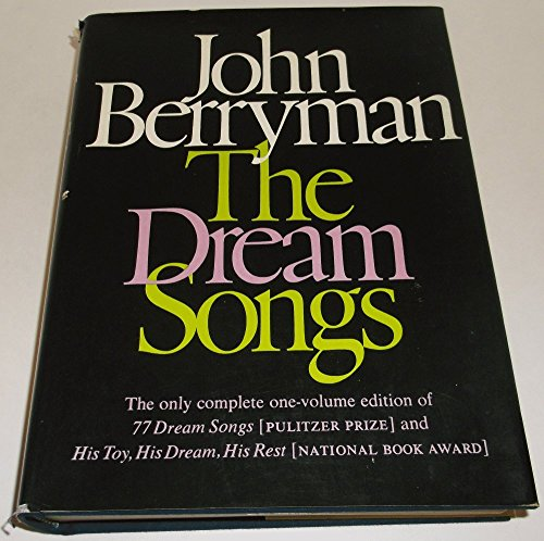 9780374143978: The Dream Songs.
