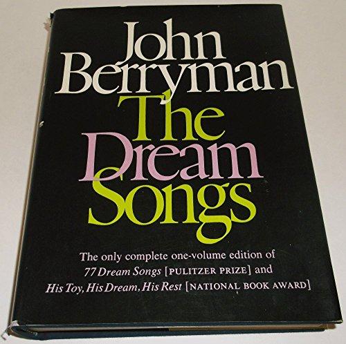 9780374143978: The Dream Songs.