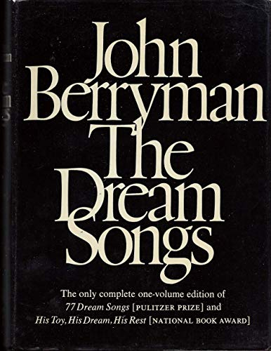 The Dream Songs: Poems (0374143978) by John Berryman