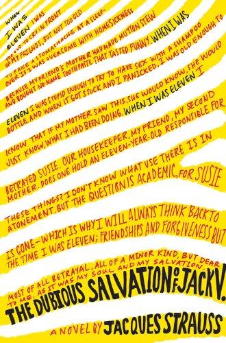 9780374144128: The Dubious Salvation of Jack V.: A Novel
