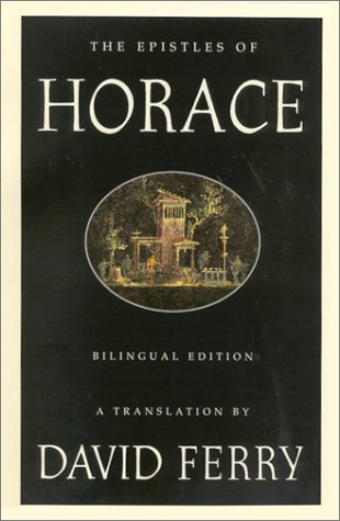 9780374148560: The Epistles of Horace