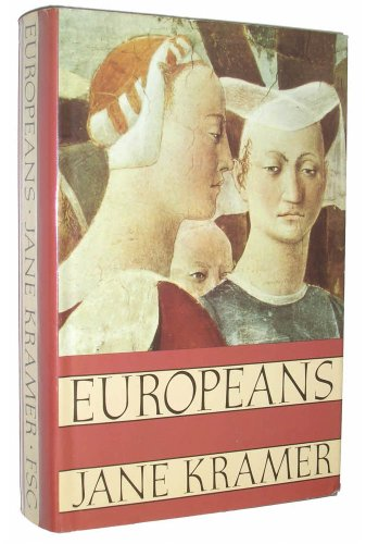 9780374149390: Europeans