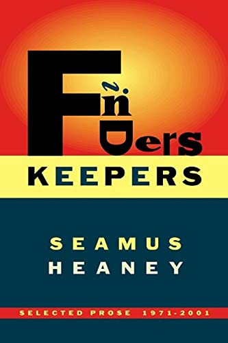 9780374154967: Finders Keepers: Selected Prose 1971 to  2001