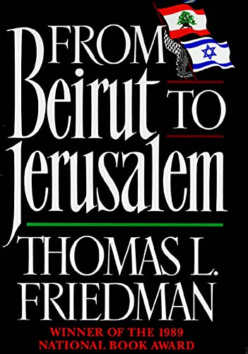 9780374158958: Fom Beirut to Jerusalem