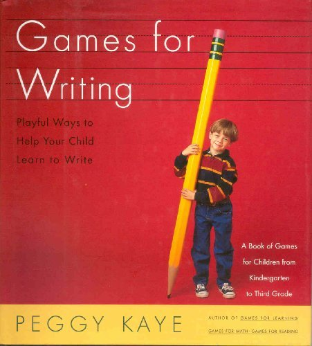 9780374160241: Games for Writing: Playful Ways to Help Your Child Learn to Write