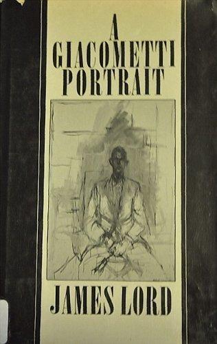 9780374161996: A Giacometti portrait
