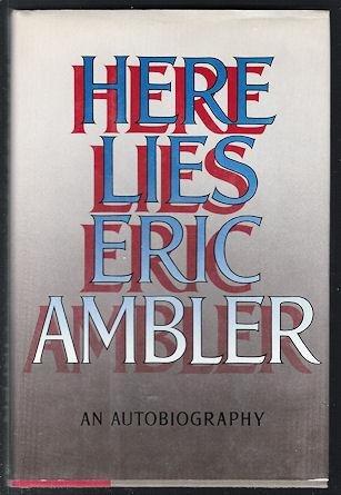 9780374169749: Here Lies: An Autobiography