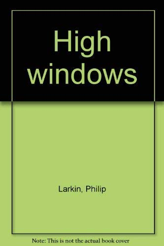 9780374170004: High windows
