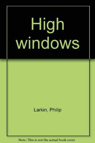 9780374170004: High windows