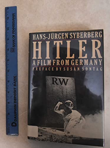 9780374171469: Hitler: A Film from Germany