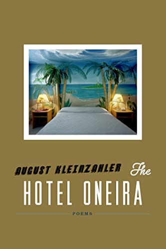 9780374172930: The Hotel Oneira: Poems