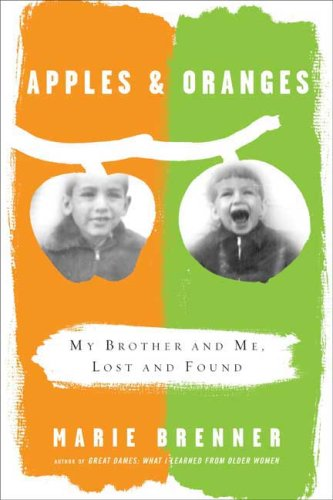 9780374173524: Apples and Oranges: My Brother and Me, Lost and Found
