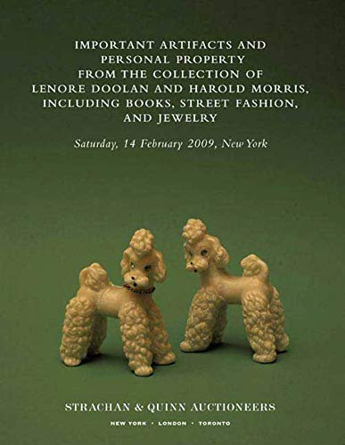 9780374175306: Important Artifacts and Personal Property from the Collection of Lenore Doolan and Harold Morris, Including Books, Street Fashion, and Jewelry