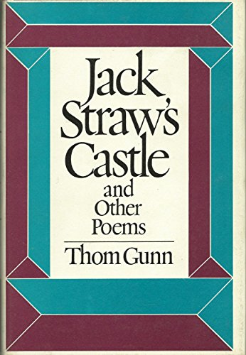 9780374178512: Jack Straw's Castle and Other Poems