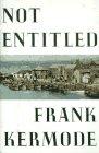 9780374181031: Not Entitled: A Memoir