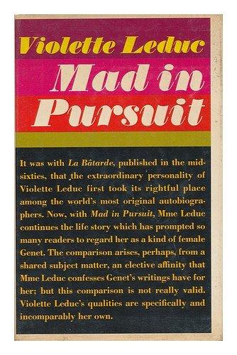 Mad in Pursuit Leduc, Violette
