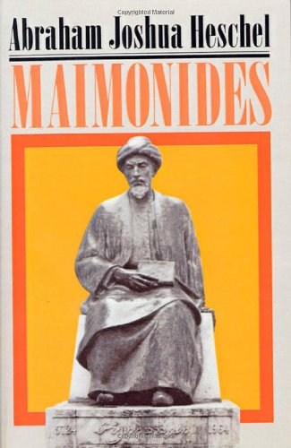 9780374198749: Maimonides: A Biography