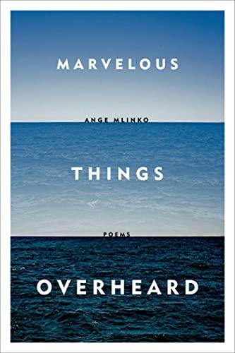 9780374203146: Marvelous Things Overheard: Poems