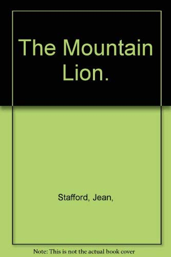 9780374214029: The Mountain Lion.