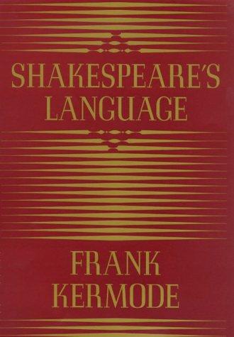 9780374226367: Shakespeare's Language