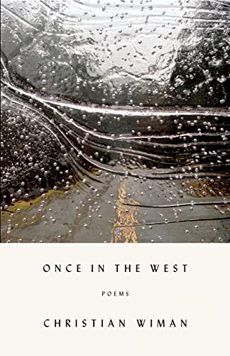 9780374227012: Once in the West: Poems