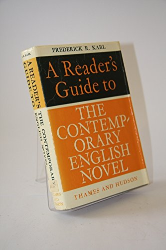9780374242015: A reader's guide to the contemporary English novel