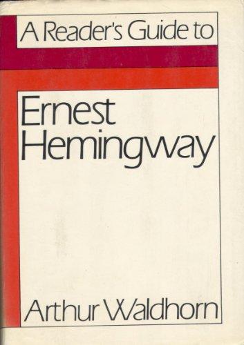 9780374242992: A Reader's Guide to Ernest Hemingway