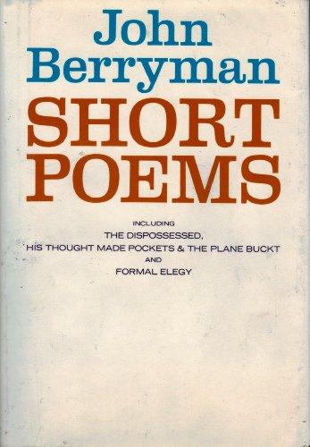 9780374263287: Short Poems