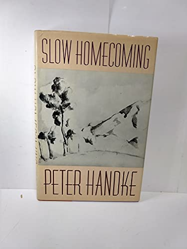 9780374266356: Slow Homecoming