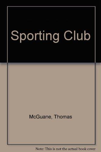 9780374267964: Sporting Club