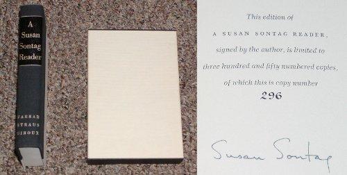 9780374272166: A Susan Sontag Reader