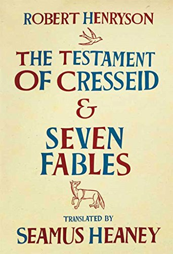 9780374273484: The Testament of Cresseid and Seven Fables