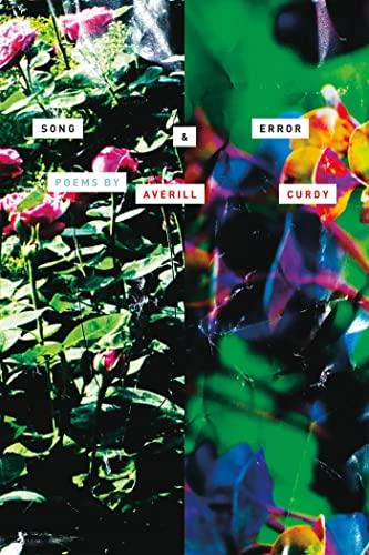 9780374280611: Song & Error: Poems