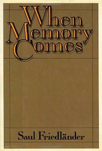 9780374288983: When Memory Comes