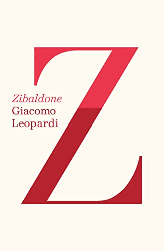 Zibaldone: Leopardi, Giacomo