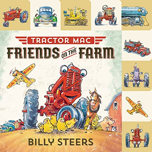 9780374301682: Lift-the-Flap Tab: Tractor Mac: Friends on the Farm (Lift-the-Flap Tab Books)