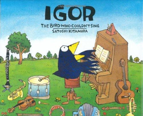 9780374335588: Igor, the Bird Who Couldn't Sing